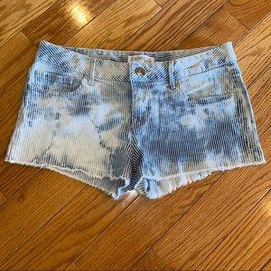 Express Faded Denim Shorts, Size 4